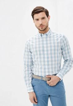 Рубашка, Springfield, цвет: голубой. Артикул: SP014EMHVHC2.