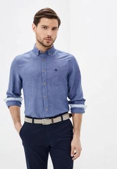 Рубашка, Springfield, цвет: синий. Артикул: SP014EMHVHC9.