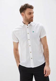Рубашка, Springfield, цвет: белый. Артикул: SP014EMHVHE2.