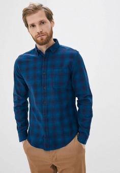 Рубашка, Springfield, цвет: синий. Артикул: SP014EMHXBQ2.