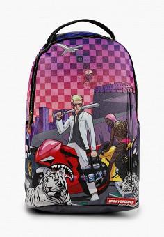 Рюкзак, Sprayground, цвет: мультиколор. Артикул: SP021BBKGCN5. Мальчикам / Аксессуары