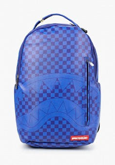 Рюкзак, Sprayground, цвет: синий. Артикул: SP021BKKGCM8. Мальчикам / Аксессуары