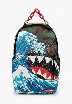 Рюкзак, Sprayground, цвет: мультиколор. Артикул: SP021BKKGCN4. Девочкам / Аксессуары