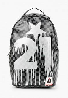 Рюкзак, Sprayground, цвет: серый. Артикул: SP021BKKGCN7. Мальчикам / Аксессуары