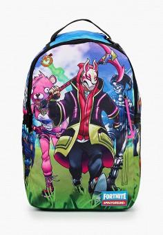 Рюкзак, Sprayground, цвет: мультиколор. Артикул: SP021BKKGCO0. Девочкам / Аксессуары