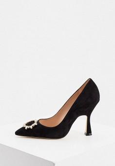 Туфли, Stuart Weitzman, цвет: черный. Артикул: ST001AWJVLG3. Обувь / Туфли / Лодочки