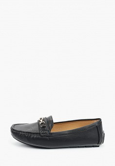 Мокасины, Stephan, цвет: черный. Артикул: ST031AWIFAL0. Обувь / Мокасины и топсайдеры