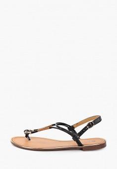 Сандалии, Stephan, цвет: черный. Артикул: ST031AWIJRJ6. Обувь / Сандалии