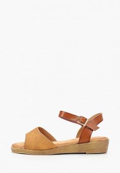 Сандалии, Stephan, цвет: коричневый. Артикул: ST031AWITQF8. Обувь / Сандалии