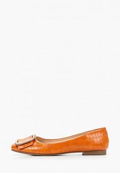 Балетки, Stephan, цвет: оранжевый. Артикул: ST031AWITQI9. Обувь / Балетки