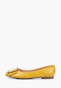 Балетки, Stephan, цвет: желтый. Артикул: ST031AWITQJ0. Обувь / Балетки