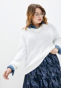 Пуловер, Studio Untold, цвет: белый. Артикул: ST038EWHSSV1. Одежда / Джемперы, свитеры и кардиганы / Джемперы и пуловеры