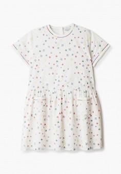 Платье, Stella McCartney Kids, цвет: бежевый. Артикул: ST052EGHXGP8. Девочкам / Одежда / Платья и сарафаны