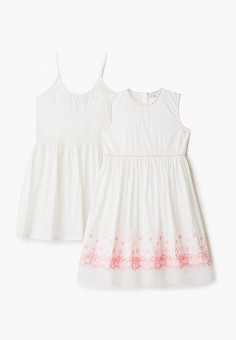 Комплект, Stella McCartney Kids, цвет: белый. Артикул: ST052EGHXGQ3. Девочкам / Одежда / Платья и сарафаны