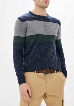 Джемпер, Stormy Life, цвет: синий. Артикул: ST061EMHGYA2. Одежда / Джемперы, свитеры и кардиганы / Джемперы и пуловеры