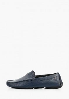 Мокасины, Storm, цвет: синий. Артикул: ST891AMITQM3. Обувь / Мокасины и топсайдеры