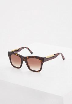 Очки солнцезащитные, Stella McCartney, цвет: коричневый. Артикул: ST977DWQYL80. Аксессуары / Очки