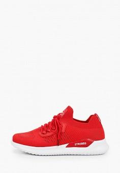 Кроссовки, Strobbs, цвет: красный. Артикул: ST979AMIJUD4. Обувь / Кроссовки и кеды / Кроссовки / Низкие кроссовки