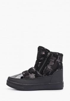 Дутики, Strobbs, цвет: черный. Артикул: ST979AWFVNB7. Обувь / Сапоги / Дутики