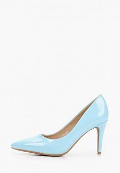 Туфли, Super Mode, цвет: голубой. Артикул: SU013AWIEPS1. Обувь / Туфли / Лодочки