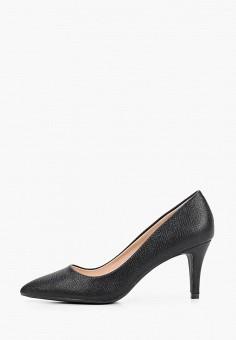 Туфли, Super Mode, цвет: черный. Артикул: SU013AWIJNV1. Обувь / Туфли / Лодочки