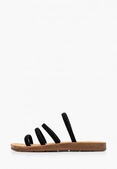 Сабо, Super Mode, цвет: черный. Артикул: SU013AWJFLM3. Обувь / Сабо и мюли