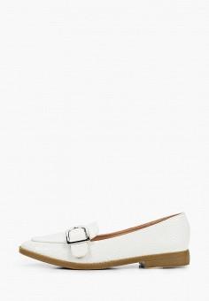 Лоферы, Super Mode, цвет: белый. Артикул: SU013AWJFLN9. Обувь / Туфли