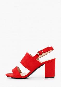 Босоножки, Super Mode, цвет: красный. Артикул: SU013AWJHWJ9. Обувь / Босоножки