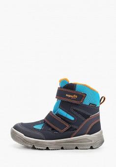 Ботинки, Superfit, цвет: синий. Артикул: SU057ABFVFF5. Мальчикам / Обувь / Ботинки