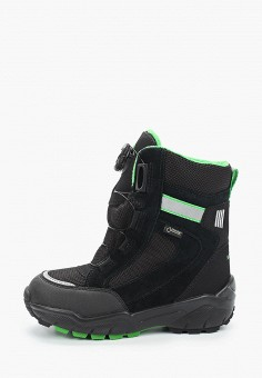 Ботинки, Superfit, цвет: черный. Артикул: SU057ABFVFG3. Мальчикам / Обувь / Ботинки