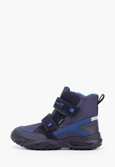 Ботинки, Superfit, цвет: синий. Артикул: SU057ABFVFG7. Мальчикам / Обувь / Ботинки