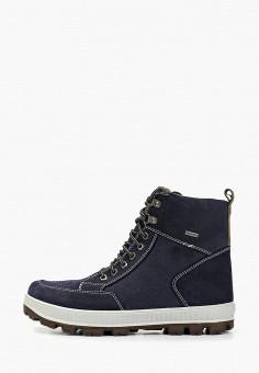 Ботинки, Superfit, цвет: синий. Артикул: SU057ABFVFH3. Мальчикам / Обувь / Ботинки