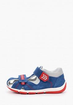 Сандалии, Superfit, цвет: синий. Артикул: SU057ABILQM8. Мальчикам / Обувь