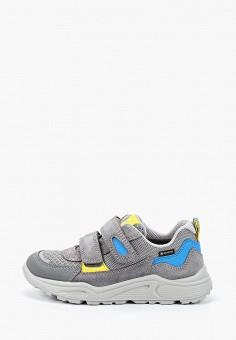 Кроссовки, Superfit, цвет: серый. Артикул: SU057ABILQN2. Мальчикам / Обувь / Кроссовки и кеды