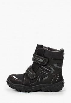 Ботинки, Superfit, цвет: черный. Артикул: SU057ABKHRL0. Мальчикам / Обувь / Ботинки