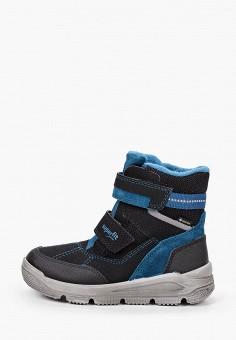 Ботинки, Superfit, цвет: черный. Артикул: SU057ABKHRO5. Мальчикам / Обувь / Ботинки