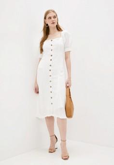 Платье, Sweewe, цвет: бежевый. Артикул: SW007EWJPZA3. Одежда / Платья и сарафаны / Вечерние платья