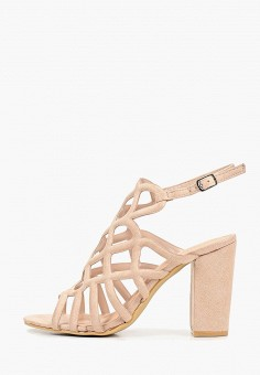 Босоножки, Sweet Shoes, цвет: бежевый. Артикул: SW010AWEYNZ5. Обувь / Босоножки
