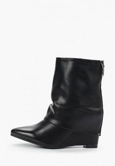 Полусапоги, Sweet Shoes, цвет: черный. Артикул: SW010AWHCVB2. Обувь / Сапоги / Полусапоги