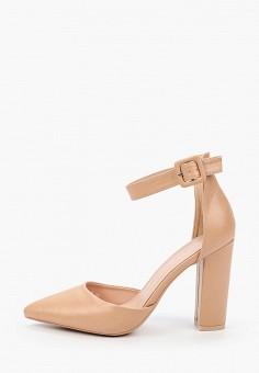 Туфли, Sweet Shoes, цвет: бежевый. Артикул: SW010AWITAT8. Обувь / Туфли