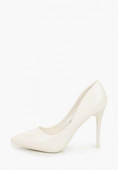 Туфли, Sweet Shoes, цвет: белый. Артикул: SW010AWITLS5. Обувь / Туфли / Лодочки