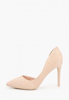 Туфли, Sweet Shoes, цвет: бежевый. Артикул: SW010AWITLS6. Обувь / Туфли / Лодочки