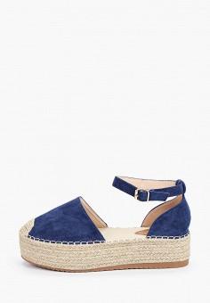 Эспадрильи, Sweet Shoes, цвет: синий. Артикул: SW010AWIZLL8. Обувь / Эспадрильи