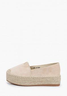 Эспадрильи, Sweet Shoes, цвет: бежевый. Артикул: SW010AWJAOC9. Обувь / Эспадрильи