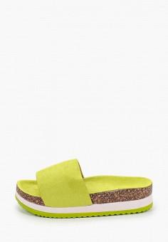 Сланцы, Sweet Shoes, цвет: зеленый. Артикул: SW010AWJHWR7. Обувь / Резиновая обувь