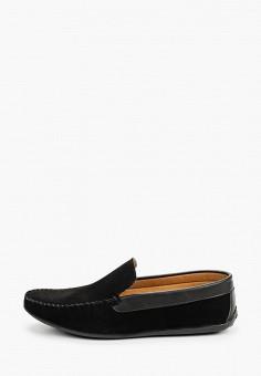 Мокасины, Tamboga, цвет: черный. Артикул: TA024AMJKIK8. Обувь / Мокасины и топсайдеры