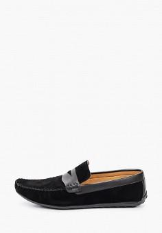 Мокасины, Tamboga, цвет: черный. Артикул: TA024AMJKIL0. Обувь / Мокасины и топсайдеры