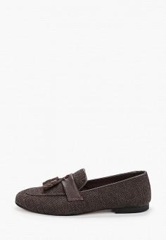 Лоферы, Tamboga, цвет: коричневый. Артикул: TA024AMJNJP0. Обувь / Туфли