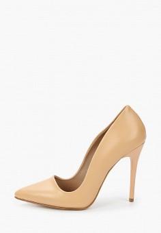 Туфли, Tamboga, цвет: бежевый. Артикул: TA024AWJKIO1. Обувь / Туфли / Лодочки