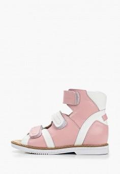 Сандалии, Tapiboo, цвет: розовый. Артикул: TA036AGDRTB3.